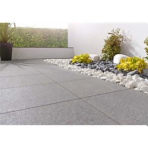 Stylish Stone Granite Paving 400 x 400mm - Dark Grey