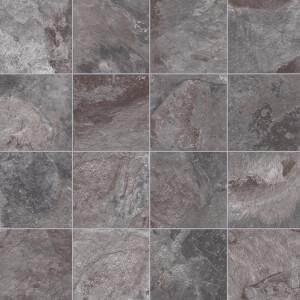 Otis Vinyl Flooring - Slate Tile Effect - 2x3m