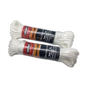 Grunt Nylon Starter Cord 3.5mm x 5m - White
