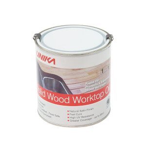 Unika Solid Wood Worktop Oil - 1L