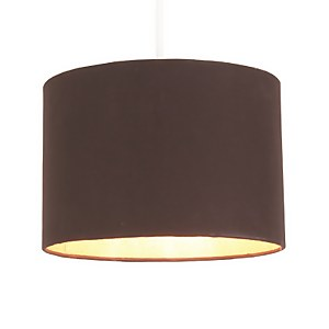 Lois Lamp Shade - Black with Gold Liner - 30cm