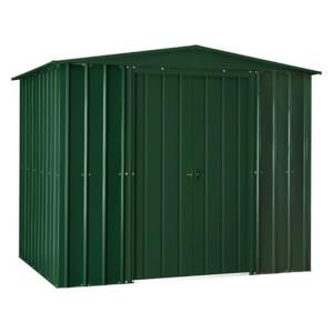 8x6ftLotus Metal Shed Heritage Green