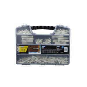 Plasplugs Nylon Plug Assortment Box - 405 Pieces