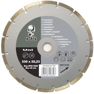 Atlas Uni Diamond Cutting Blade - 125 x 22.23mm