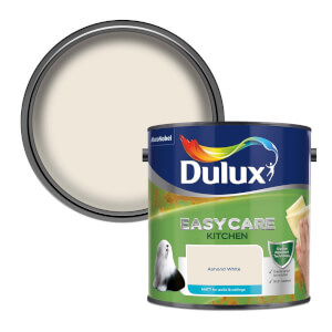 Dulux Easycare Kitchen Almond White Matt Paint - 2.5L
