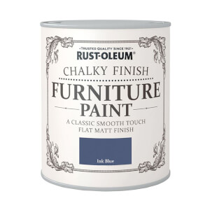Rust-Oleum Chalky Furniture Paint - Ink Blue - 125ml