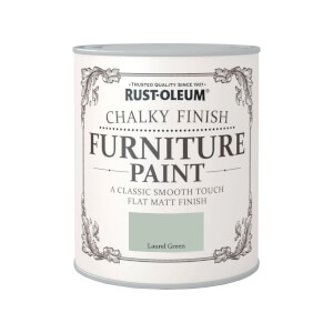 Rust-Oleum Chalky Furniture Paint - Laurel Green - 750ml