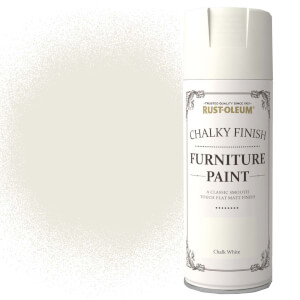 Rust-Oleum Furniture Spray Paint - Chalk White - 400ml
