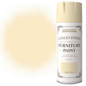 Rust-Oleum Furniture Spray Paint - Clotted Cream - 400ml
