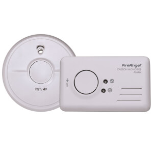 Fireangel Smoke and Co Alarm Twin Pack