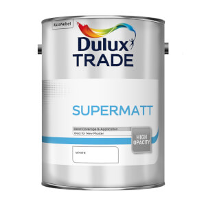 Dulux Trade Supermatt White - 5L