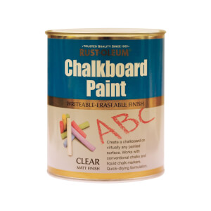 Rust-Oleum Chalkboard Finish Clear 750ml