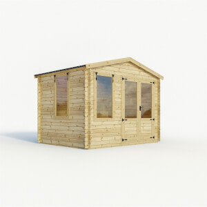 Mercia 3m x3.3m Sherwood 19mm Log Cabin