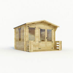 Mercia 3.3 x 3.7m Sherwood Log Cabin