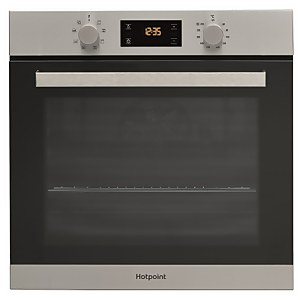 Hotpoint Class 3 SA3540HIX Built-in Single Electric Oven - Stainless Steel