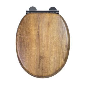 Croydex Ontario Moulded Wood Teak Effect