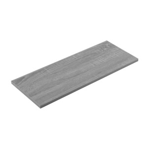 Timber Shelf - Grey Oak - 600x250x16mm