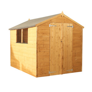 Mercia (Installation Included) 8x6ft Shiplap Apex Shed