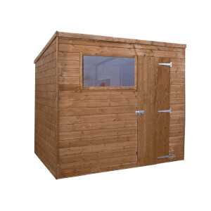 Mercia (Installation Included) 8x6ft Shiplap Pent Shed