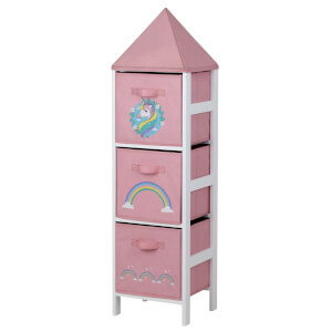Kids Storage Tower  - Unicorn