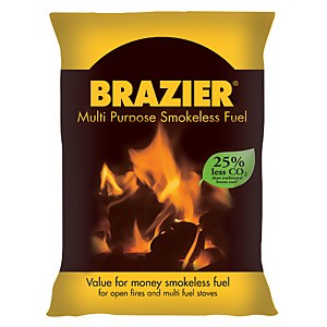 Brazier Smokeless Fuel Coal 10kg
