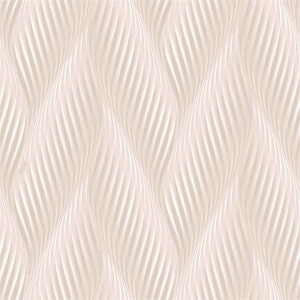 Belgravia Decor Coca Cola Geometric Embossed Metallic Wave Light Pink Wallpaper