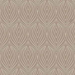 Belgravia Decor Coca Cola Damask Embossed Metallic Silver Wallpaper