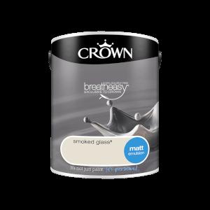 Crown Standard Matt Emulsion - Smoked Glass - 5L