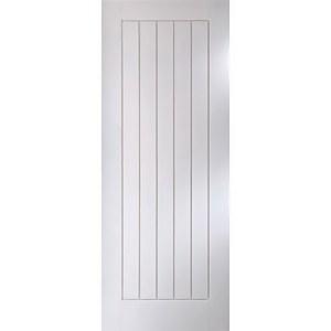 Cottage White Primed Interior Door 1981 x 838mm