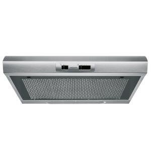 Hotpoint PSLCSE65FASX Visor Cooker Hood - 60cm - Graphite