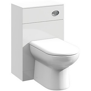 Balterley Orbit 600x300mm WC Unit - Gloss White