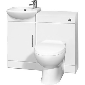 Balterley Cloakroom Furniture Pack - With Tap