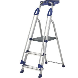 Werner Workstation Step Ladder - 3 Tread