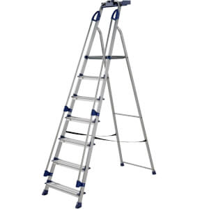 Werner Workstation Step Ladder - 7 Tread