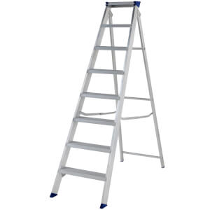 Werner MasterTrade Step Ladder - 8 Tread