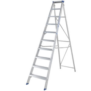 Werner MasterTrade Step Ladder - 10 Tread