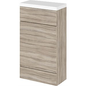 Balterley Dynamic 500mm Compact WC Unit With Top - Driftwood