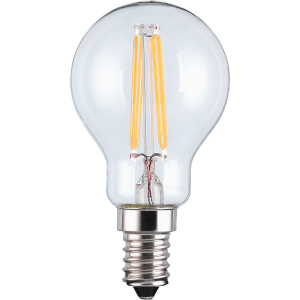 TCP Filament Globe Clear 40W SES Warm Light Bulb -3 pack