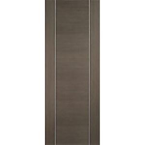 Alcaraz Internal Prefinished Chocolate Grey Door - 762 x 1981mm