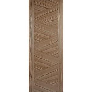 Zeus Internal Prefinished Walnut Door - 686 x 1981mm