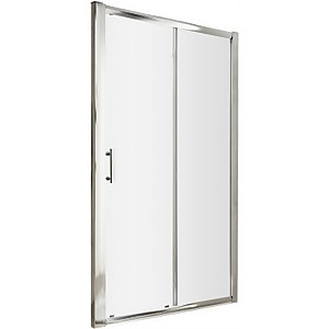 Balterley Single Sliding Shower Door - 1000mm (6mm Glass)