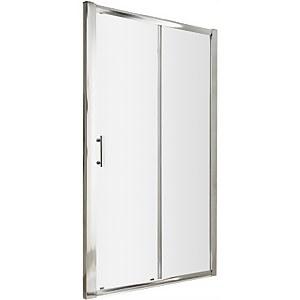 Balterley Single Sliding Shower Door - 1500mm (6mm Glass)