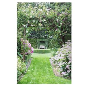 English Garden Outdoor Canvas 90x59cm