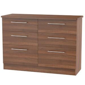 Siena Noche 6 Drawer Midi Chest