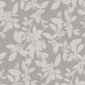 Holden Decor Linden Floral Textured Metallic Glitter Grey Wallpaper
