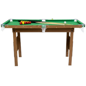 JUNIOR 4FT SNOOKER/POOL TABLE GREEN