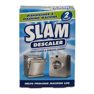 Slam Dishwasher & Washing M Descaler 2pk