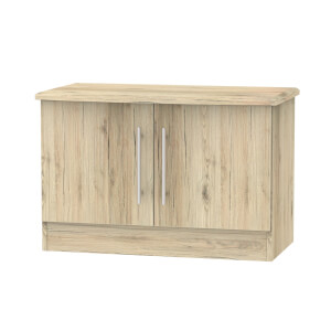 Siena Low 2 Door Sideboard - Bordeaux Oak