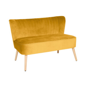 Cocktail Sofa - Ochre