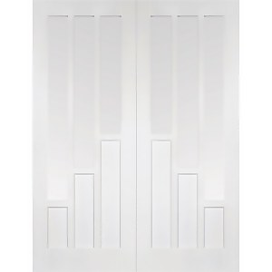 Coventry - Glazed White Primed Internal Door - 1981 x 1372 x 40mm